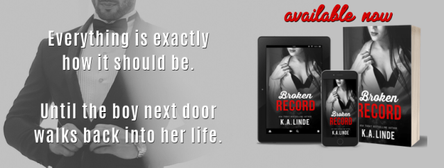 New Release & Review: Broken Record The Record Series #5 K.A. Linde @AuthorKALinde @Danichez75