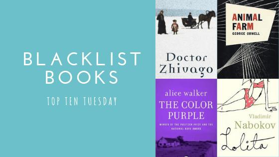 Backlist Books | Top Ten Tuesday #20