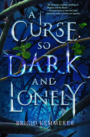 A Curse so Dark and Lonely Book Cover Book Review Book Blog Book Blogger Books Reading