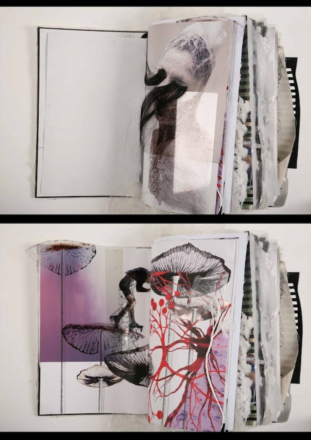creative fashion sketchbook