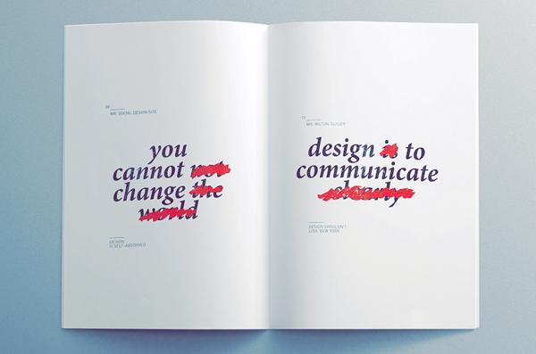 manifesto essay statement book design inspiration