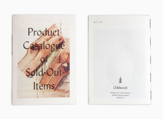 oddwood risograph printed catalogue design inspiration