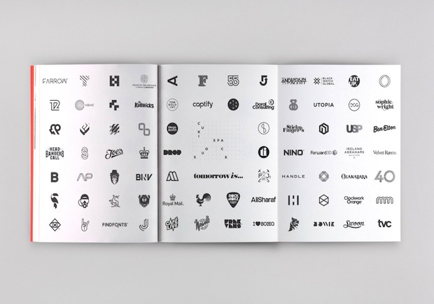 graphic design portfolio book inspiration