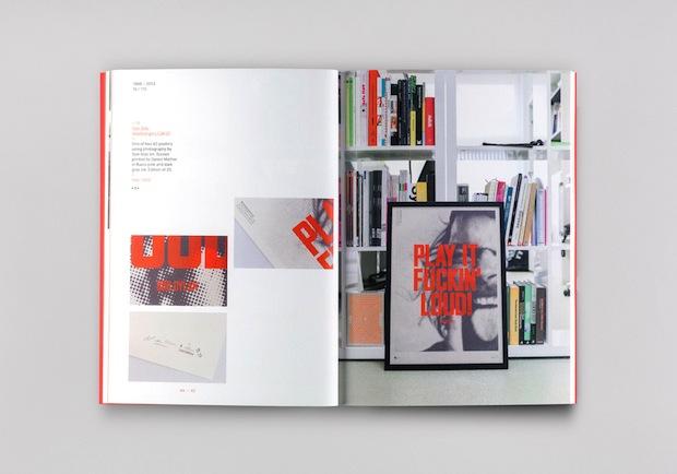 graphic design portfolio book inspiration