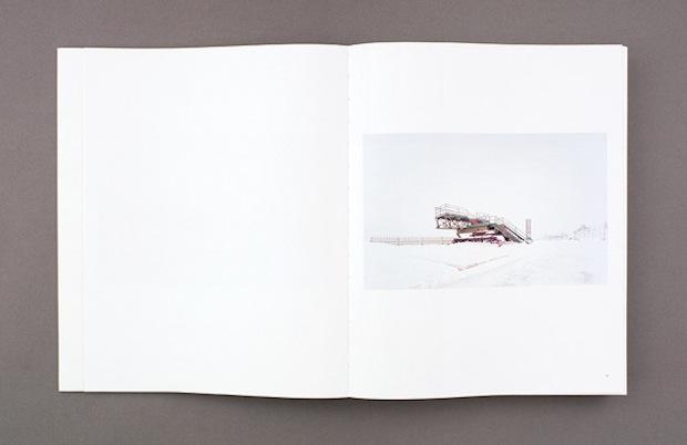 Photography book design spread inspiration