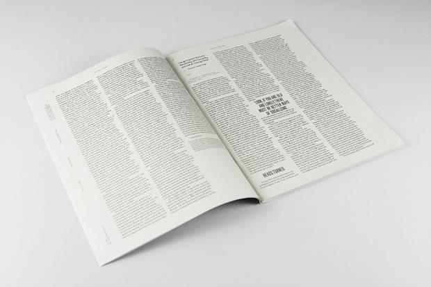 The Cyprus Dossier magazine editorial design inspiration