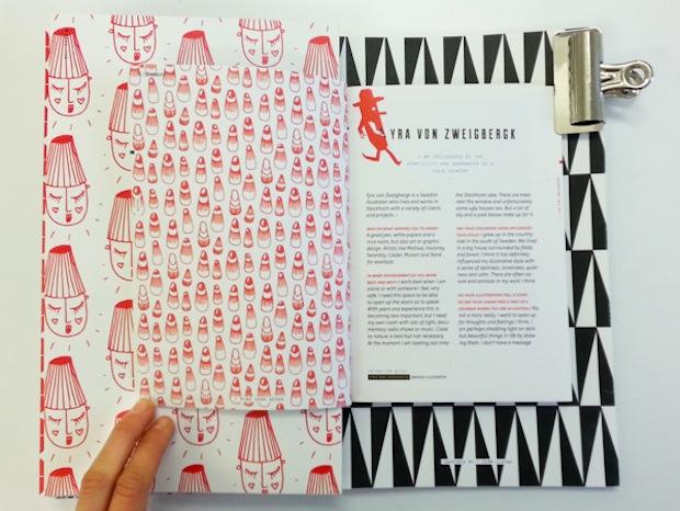 Scandinavian illustration book design inspiration