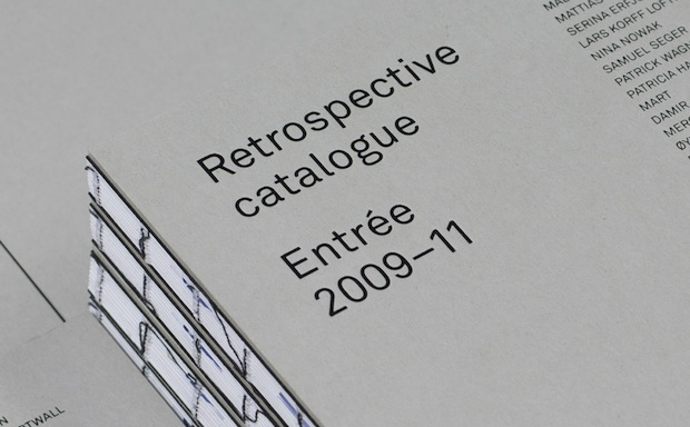 graphic design inspiration – catalogue design typography