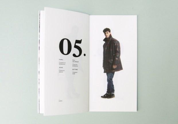 fashion label look book design inspiration