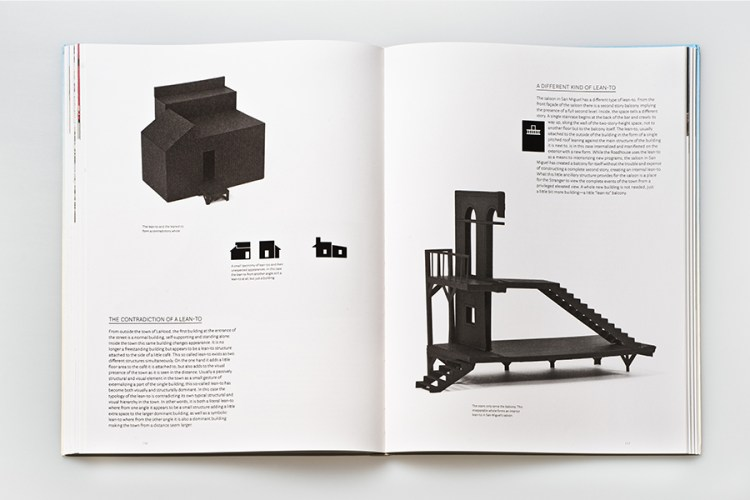 Book Design Inspiration: The Western Town – A Theory of Aggregation 2013