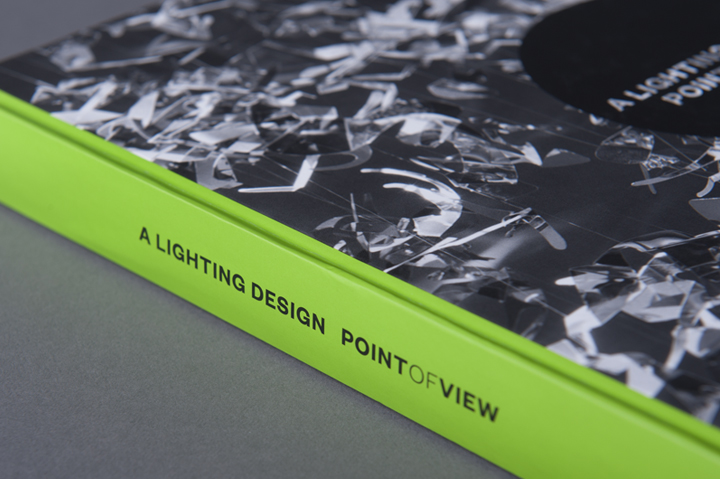 graphic design inspiration - lime green book design