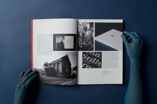 Graphic design inspiration – Komma magazine