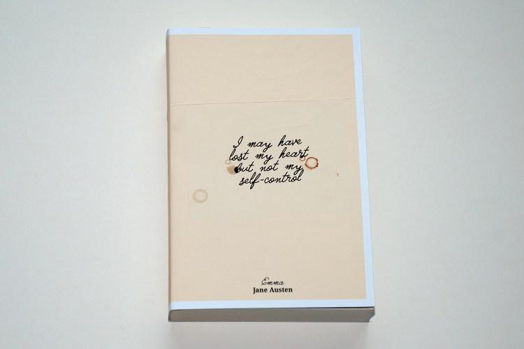 Jane Austen – Emma book cover