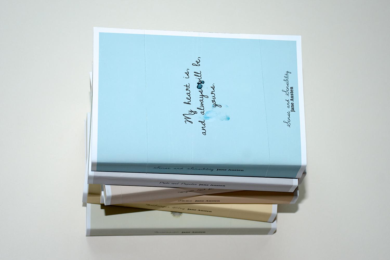 Jane Austen 'Tears' book cover series