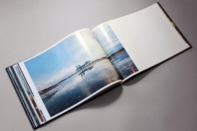 Irkut airacraft – Illustrated book design