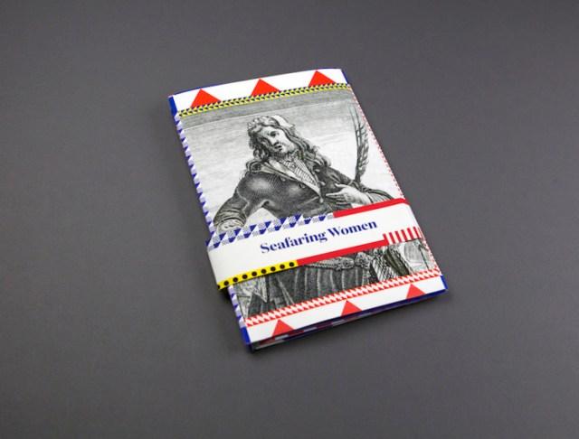 book design inspiration – a broadsheet newspaper about secret female sailors