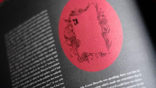 Book Design Inspiration – illustrated Dracula book