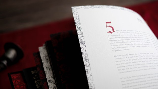 Dracula illustrated book