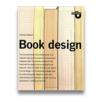 Book Design (Portfolio) by Andrew Haslam