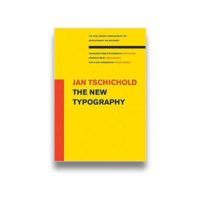 Jan Tschichold: The New Typography