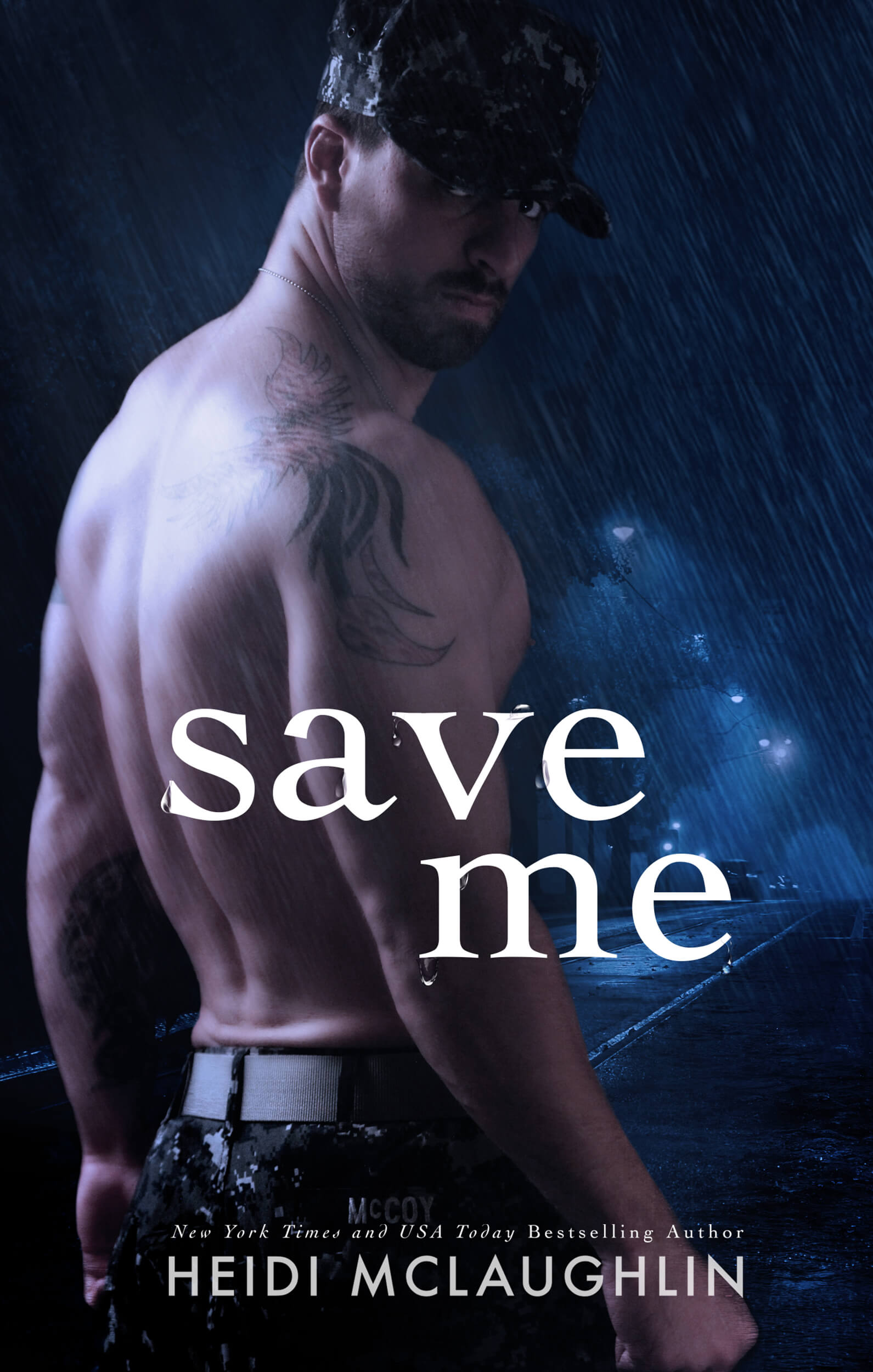 Save Me by Heidi McLaughlin: Cover Reveal