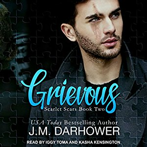 Scarlet Scars duet by JM Darhower: Audio Review