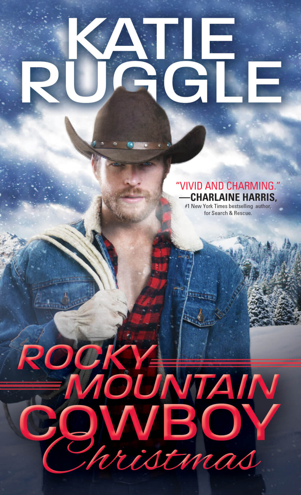 Rocky Mountain Cowboy Christmas by Katie Ruggle