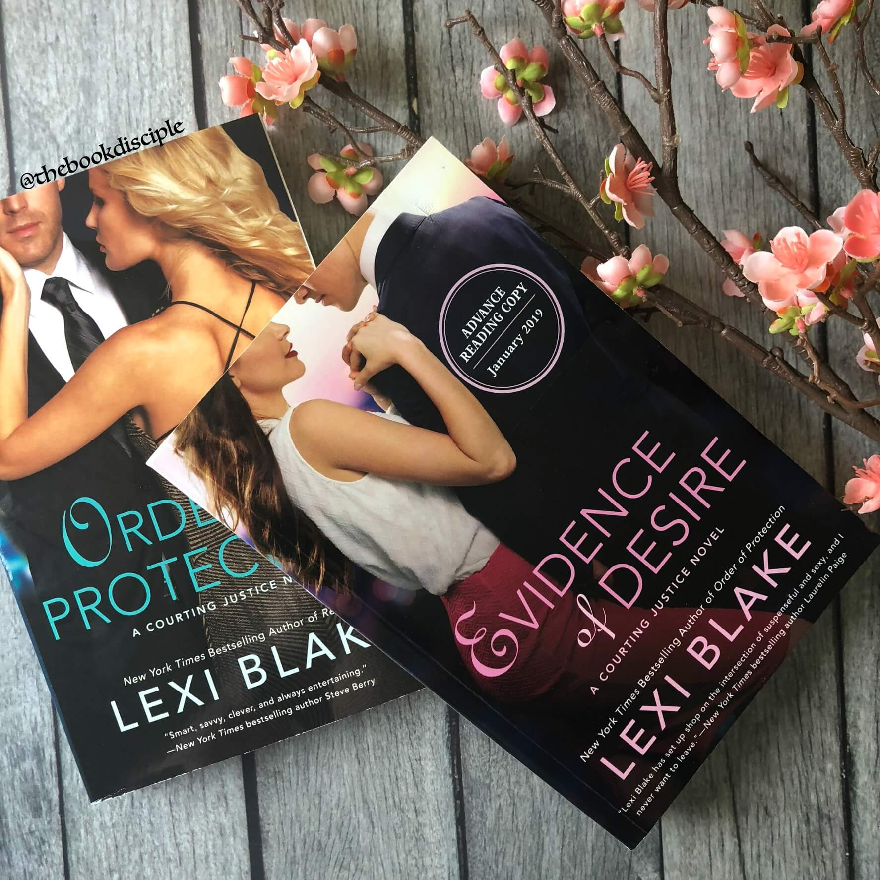 Evidence of Desire by Lexi Blake