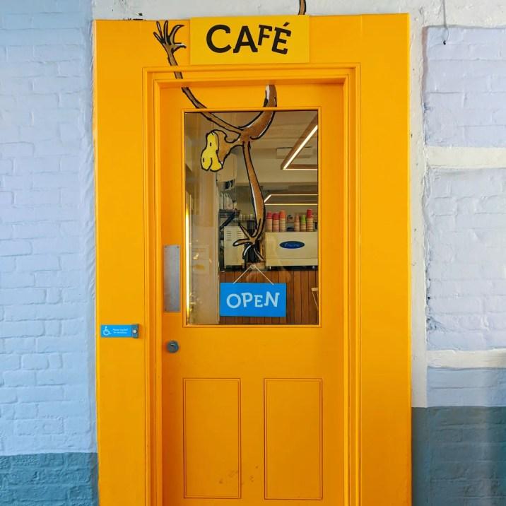 Roald Dahl Museum Cafe Yellow Door