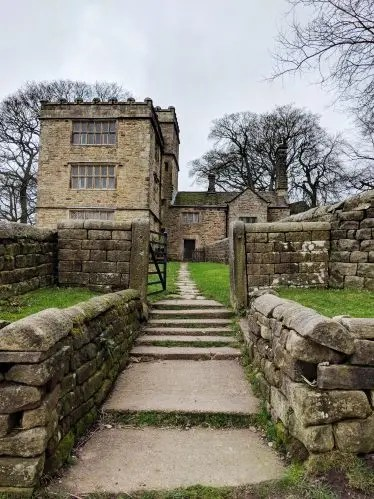 North Lees Hall - Thornfield Hall Entrance - Jane Eyre Trail