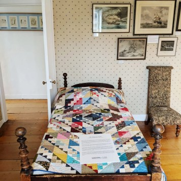 The Admiral's Quilt at Jane Austen's House Museum