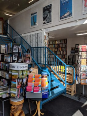 Stairs Westwood Books Sedbergh