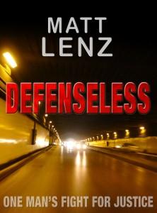 Book cover Defenseless by Matt Lenz