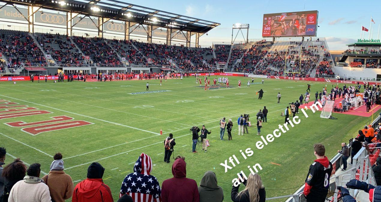 DC Defenders/XFL Week 1 Review