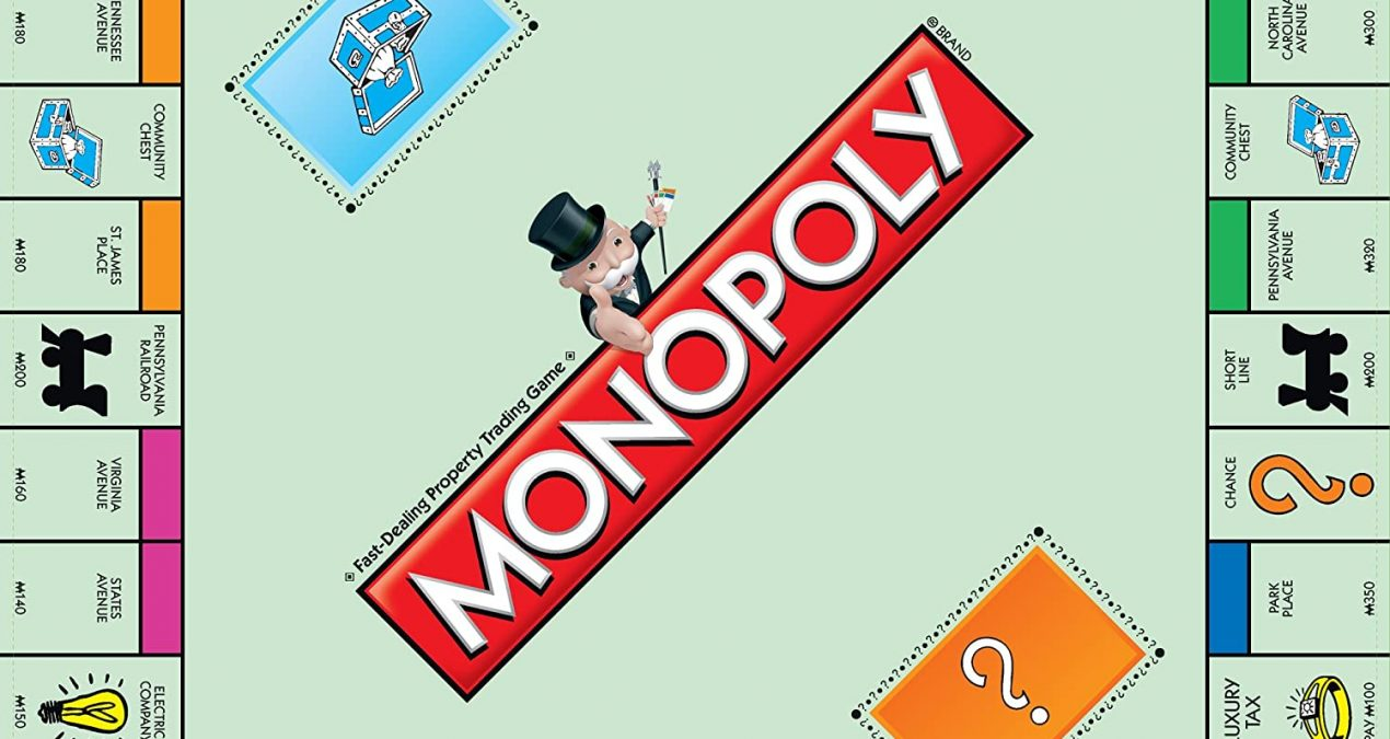 Monopoly Needs a Bigger Place in Society