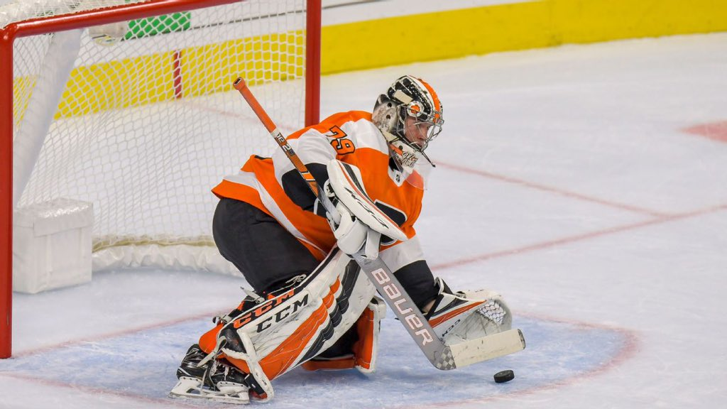 Carter Hart Son'd the Montreal Canadiens