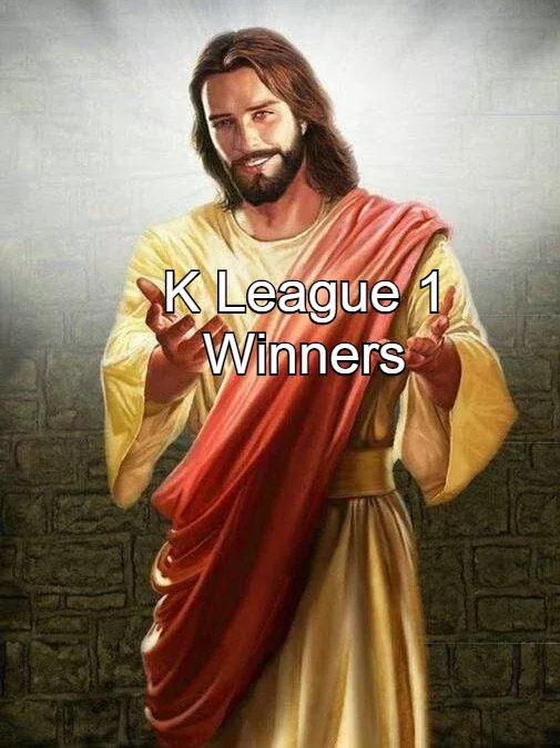 Jesus' K League 1 Gambling Primer August 22 & 23, 2020