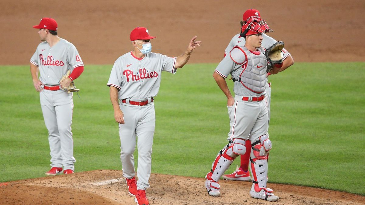 I'd Like to Apply to be a Phillies Relief Pitcher