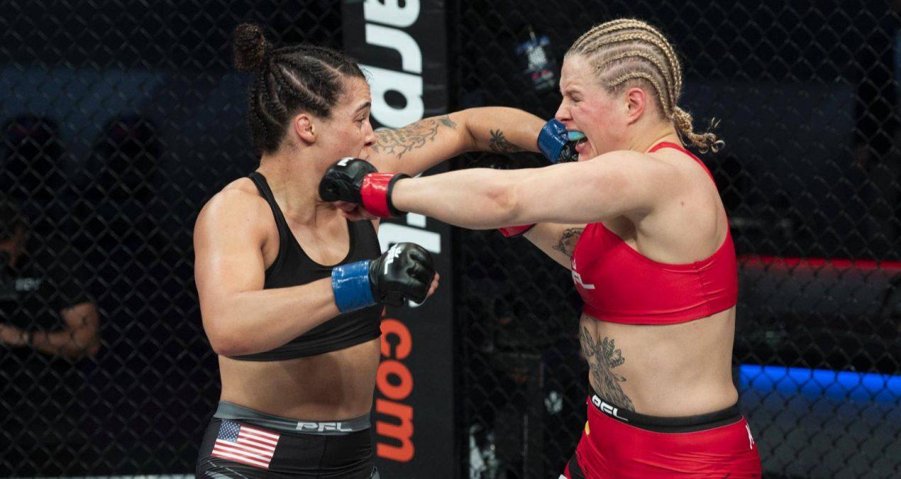 PFL Lightweight Contender Olena Kolesnyk Might Be The Best Motivational Speaker In MMA