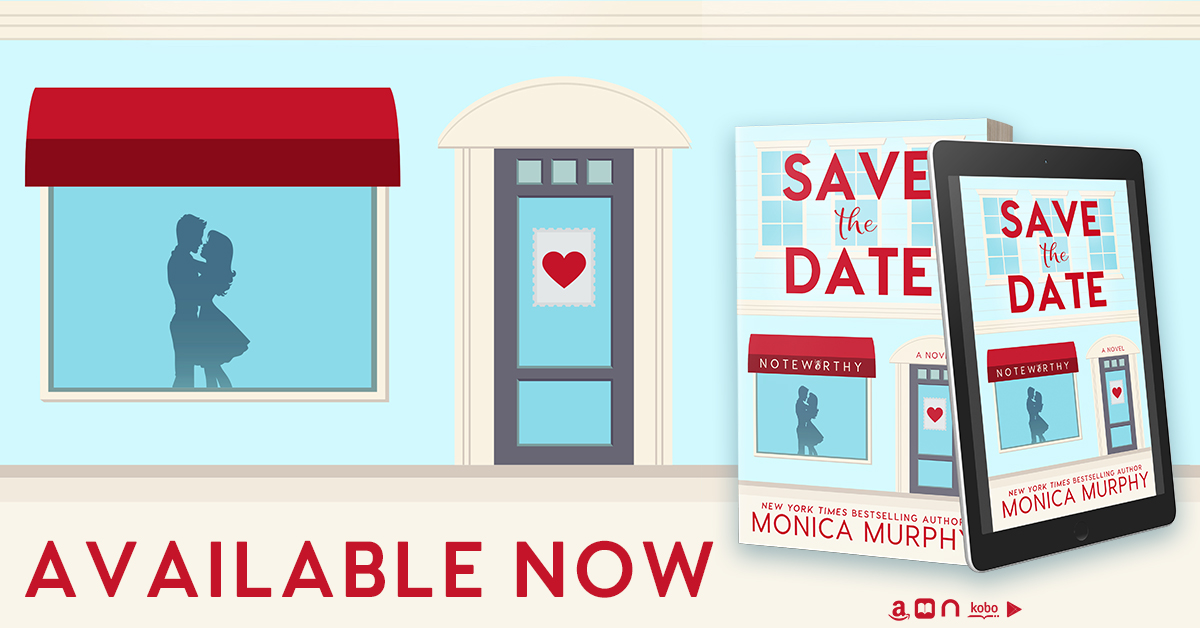 Save the Date by Monica Murphy. Have you ever seen a book