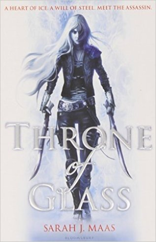 Throne of glass - UK cover