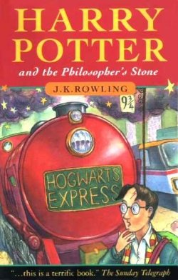 Harry Potter and the philosopher's stone - UK cover