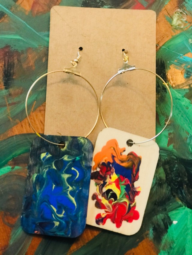 "\""Alchemy\\\"" Earrings by The Chakra Collection"