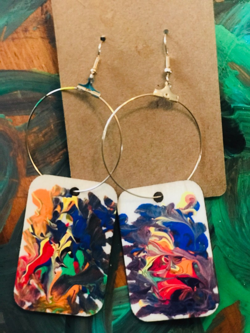 """""""Frequencies"""" Earrings by The Chakra Collection"""