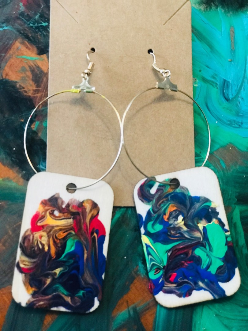 """""""Seven"""" Earrings by The Chakra Collection"""