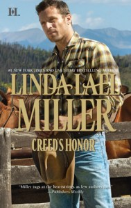 Review & Giveaway: Creed's Honor by Linda Lael Miller