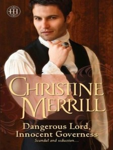 Cover for Dangerous Lord, Innocent Governess