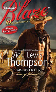 Review – Cowboy Like Us by Vicki Lewis Thompson