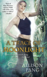 Cover for A Trace of Moonlight by Allison Pang