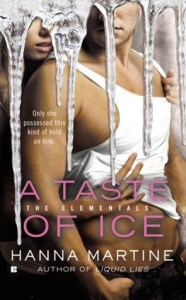 Cover for A Taste of Ice by Hanna Martine